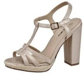 Beige Beige City Sandalette femme Sandales pour Walk XwF4qU