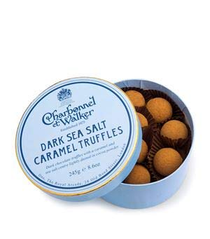 Charbonnel et Walker Dark Sea Salt Caramel Truffles 245g