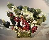 Bonsai Boy's Decorative Glass Grape Bonsai Tree