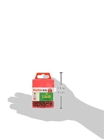 Art.-Nr Holzbauschrauben mit Tellerkopf und Teilgewinde f/ür Holzrahmenbau oder St/änderbau gelbverzinkt 50 St/ück 659246 fischer Power-Fast FPF-WT 8,0 x 120 YZP