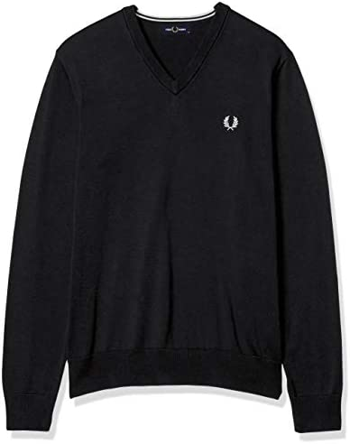 セーター CLASSIC COTTON V NECK JUMPER K5522 メンズ