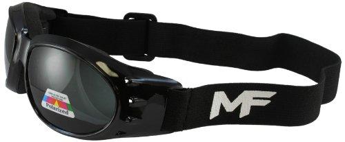 MF Vulcan Goggles (Black Frame/Polarized Smoke Lens)