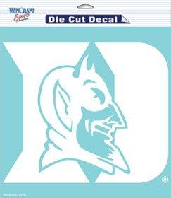 Wincraft NCAA Duke Blue Devils 8x8 White Decal Logo