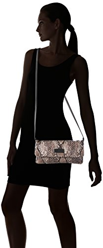Gerry Weber Damen Feel Free Clutch, Braun (Light Brown 701), 28x14x1 cm
