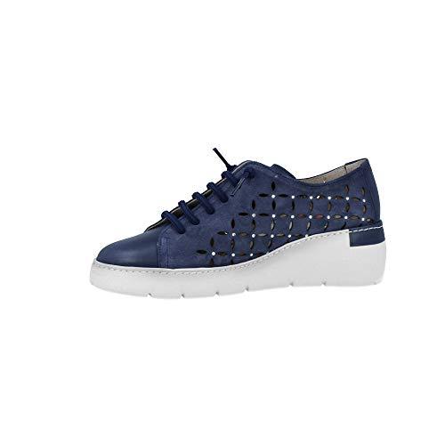 De Hv98934 Hispanitas Bora 39 Serraje Azul Mujer Zapatos wvwgqxtA
