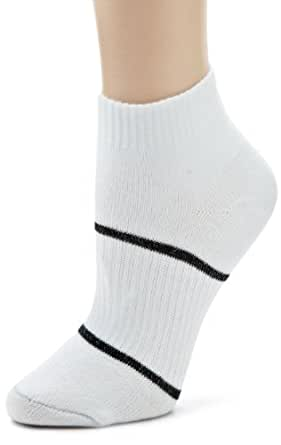 Wrightsock Women's Running Ii Lo 3 Pack Athletic Socks, White, Large