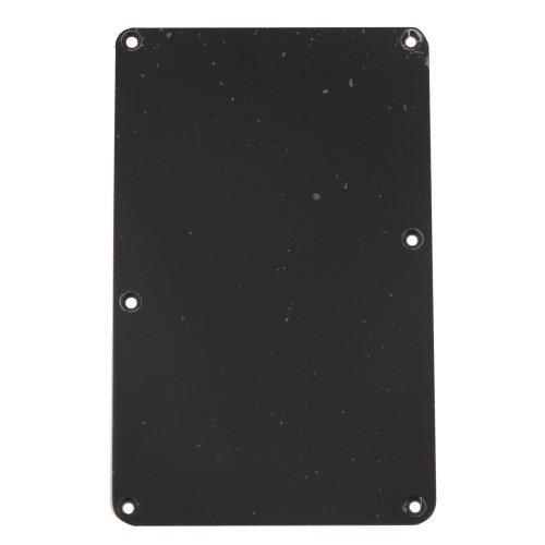 Tremolo Spring Cover No String Holes Black 1-ply Allparts PG-0576-023
