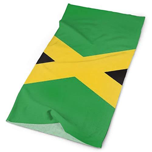 YongColer Head Scarf, Bandana Turban, Beanie Hat, Cap Hat for Bike Motorcycle Fishing Basketball, Boys, Grils, Multifunctional/Sweat Wicking Headwear - Jamaican Flag