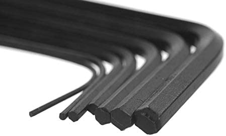 xiaoxiaoguo 7本/セット0.7〜3.0mm六角レンチ六角レンチ手動工具セットメンテナンス工具六角レンチ工具セットメンテナンスレンチ