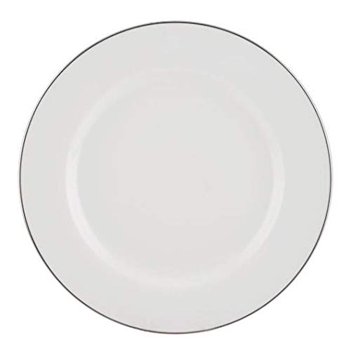 Set of 4 Royal Worcester Classic Platinum Round Plate 27cm