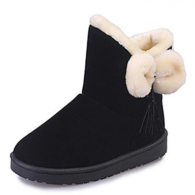 Comfort Forro Mujer Moda Zapatos Round Primavera EU39 Bota Novedad De La Lanilla Suede Botines Tobillo Cuña De Toe De UK6 Botas Botas US8 Botas RTRY CN39 Para Otoño Nieve De Tacón x8a0Eqxd