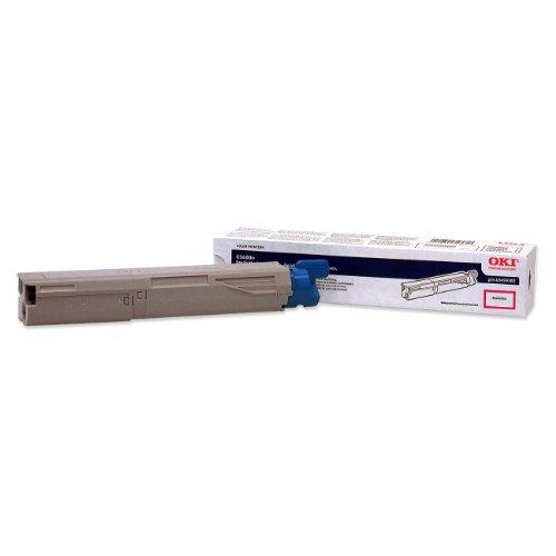 Okidata 43459302 High-capacity Toner Cartridge for C3400/C3500/C3600 Series Printers, 2000 Page Yield, Magenta