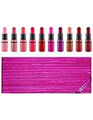M.A.C. Shiny Pretty Things 10 Mini Lipstick Set Limited Edition 2018 from MAC