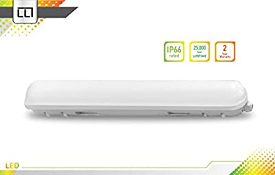 LED Lighting Technology LLT LED Garage Vapor Proof Fixture 2ft 18W IP66 3500K/4000K/5000K