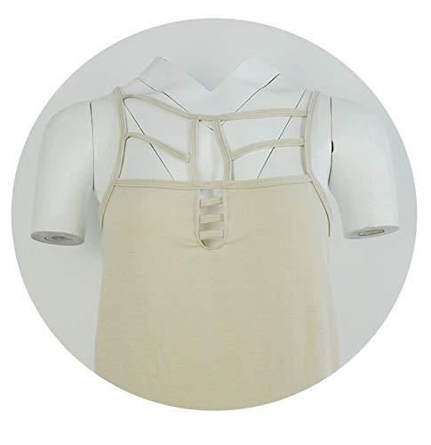 - Cherish2 New Sexy Fashion Ladies Summer Casual Sleeveless Bandage Hollow Out Slim Vest Gilet Sexy Tanks,XXL
