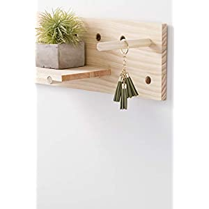 Darice System: Wooden Pegboard Container, 3.25 x 8.75 Inches, Unfinished/Natural