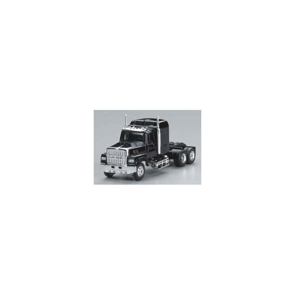 Power   1/87 Ford 9000 Semi Truck Cab Black HO (Trains) Toys & Games