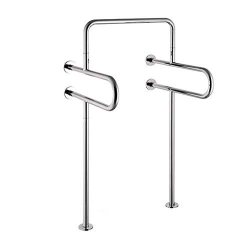 Anti-Slip Grip Grab Bar Rail Bathroom handrail 304 Stainless Steel Mirror armrest -