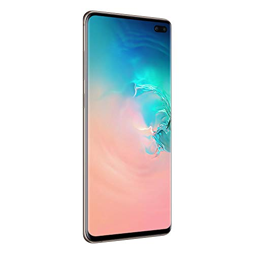 Samsung Galaxy S10 Plus Dual SIM 1TB 12GB RAM 4G LTE (UAE Version) - Ceramic White - 1 year local brand warranty