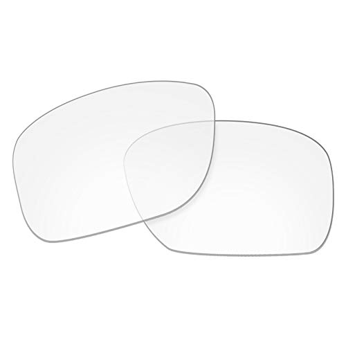 OOWLIT Replacement Lenses Compatible with Oakley Holbrook Sunglass HD Clear ()