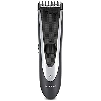 SUPRENT All-in-one Beard Trimmer, with 23 Build-in Length Settings as Mustache Trimmer and Precision Trimmer, Rechargeable and Cordless
