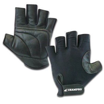 Champro Padded Catcher's Glove/Full Right (Black, One size fits - Softball Champro Catchers