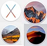 Macintosh OS X Installer - MOJAVE (Mac OS X.14), HGH SIERRA (Mac OS X.13), SIERRA (Mac OS X.12) and OS EL CAPITAN (Mac OS X.11) Quad Bootable USB Flash Drive