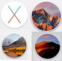 Macintosh OS X Installer - MOJAVE (Mac OS X.14), HIGH SIERRA (Mac OS X.13), SIERRA (Mac OS X.12) and OS EL CAPITAN (Mac OS X.11) Quad Bootable USB Flash Drive