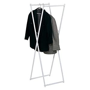 Storage Dynamics Folding Clothes Rack