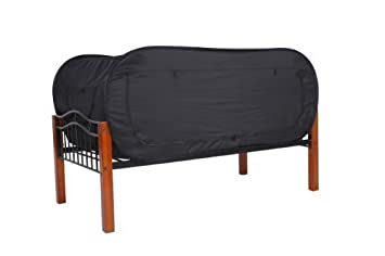 Privacy Pop Bed Tent (Twin Bunk) - BLACK  sc 1 st  Amazon.com : bed tents for bunk beds - memphite.com
