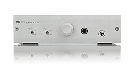 Musical Fidélity V HPA Amplificador para auriculares RCA USB Jack plata