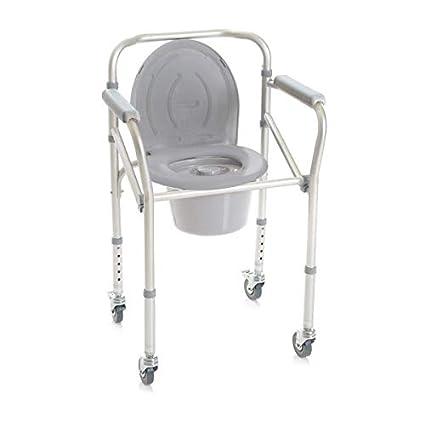 MOPEDIA silla-Cómoda con 4 funciones, con ruedas