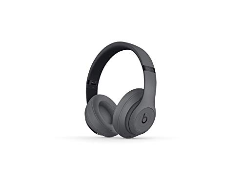 Beats Studio3 Wireless Headphones – Gray (Renewed)