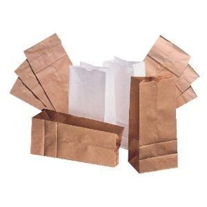 25# Of 500 Grocery Bags DURO BAG MFG CO Paper Bags 80978 079594809788