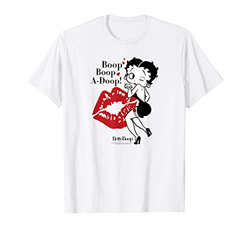 (Betty Boop Blowing Kisses T-shirt)