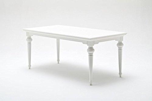 Provence Mobel Style : Provence landhausmöbel esstisch 180 cm weiß landhaus barock: amazon