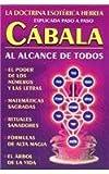 Cabala Al Alcance de Todos, Tomo, 9706667369