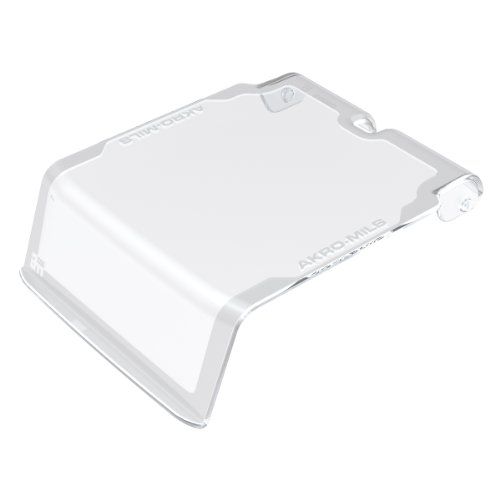 - Akro-Mils 30211CRY Lid for 30210 AkroBin, Crystal Clear, 24-Pack