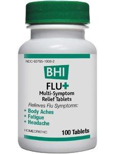 BHI FluPlus (Flu-Plus) 100 tabs, (Pulsatilla 100 Tabs)