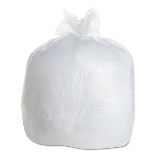 ESSBR2433M - Flexsol BR2433M Clear Coreless Rolls High Density Sturdy Sax Can Liners, 15 (Best Sax Trash Bags)
