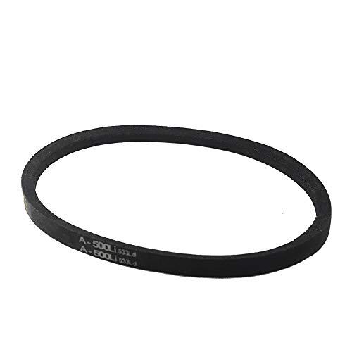 WNJ-TOL, 1 stuk V Belt A type A500 / 550 / 600 / 650 / 700 / 750 / 800 / 850 / 900 / 950 / 1000 rubberen aandrijfriem