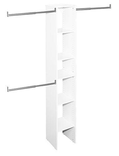 ClosetMaid 4867 SuiteSymphony 12-Inch Starter Tower Kit, Pure White