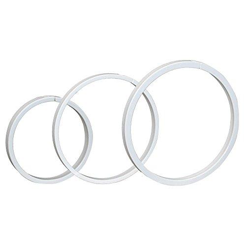 King Innovation 45055 Leak-B-Gone pvc ring, White