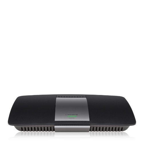 Linksys AC1200 Wi-Fi Wireless Dual-Band+ Router with Gigabit & USB Ports, Smart Wi-Fi App Enabled to Control Your Network from Anywhere (EA6300) by Linksys