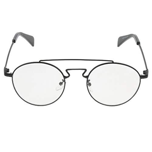Soleil Noir De UV Vintage MagiDeal Rond Goggles Unisexe Spectacles Protection Lunettes Rétro nC7PqwBx