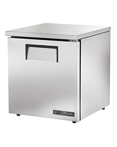 True TUC-27F-LP-HC Undercounted Low Profile Solid Door Freezer with Hydrocarbon Refrigerant, 31.875