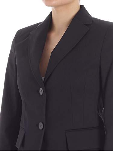 Cotone Max Mara Nero Donna Blazer 60410281000006 xwTfPg