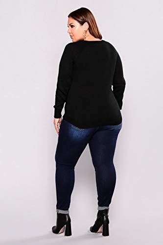 Marine Dchiquets lastique DAMENGXIANG Trous Culture Trs Femme La Jeans L'Auto Skinny Grande Bleu YqwHq87