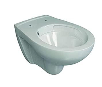 Bevorzugt WC spülrandlos | Toilette ohne Spülrand | weiß | Keramik | Hänge TR75
