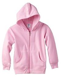 Toddler Full-zip Hoodie, Pink - Size 4t